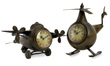 Lindbergh Aviation Clocks - Airplane & Helicopter