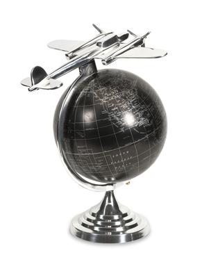 Hadwin Airplane Globe - Large