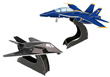 Blue Angels F/A-18 and F-117 Nighthawk 3D Puzzles