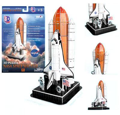 NASA Space Shuttle 3D Puzzle
