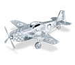 Mustang P-51 3D Laser Cut Model