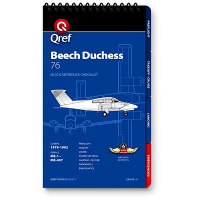 Beech Duchess Checklist Qref Book