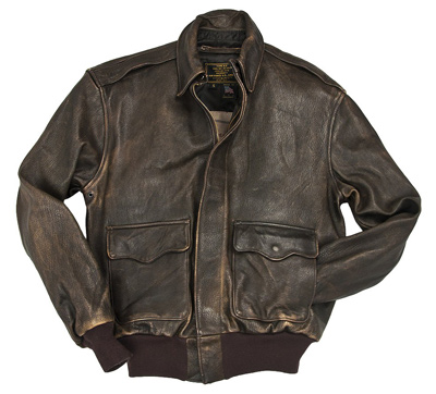 Cockpit Mustang A-2 Leather Jacket