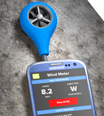 WeatherFlow Wind Meter for Smartphones