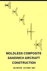 Moldless Composite Sandwich Aircraft Construction