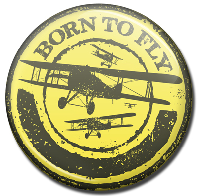 Born to Fly Magnet