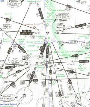 HIGH: H-5/6 IFR High Altitude Enroute Chart