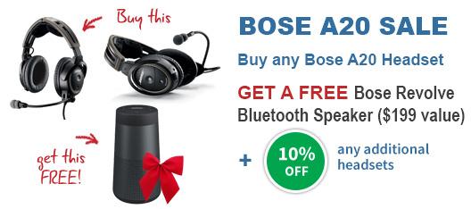 Bose A20 Promotion