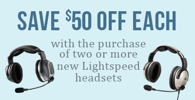 Lightspeed Tango Wireless ANR Aviation Headset Special Offer