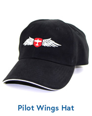 Pilot Wings Hat