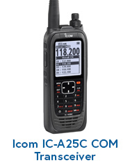 Icom IC-A25C COM Transceiver