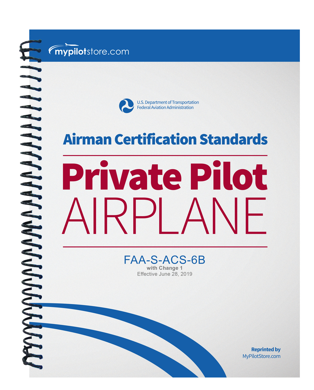pilot private airman certification standards airplane mypilotstore
