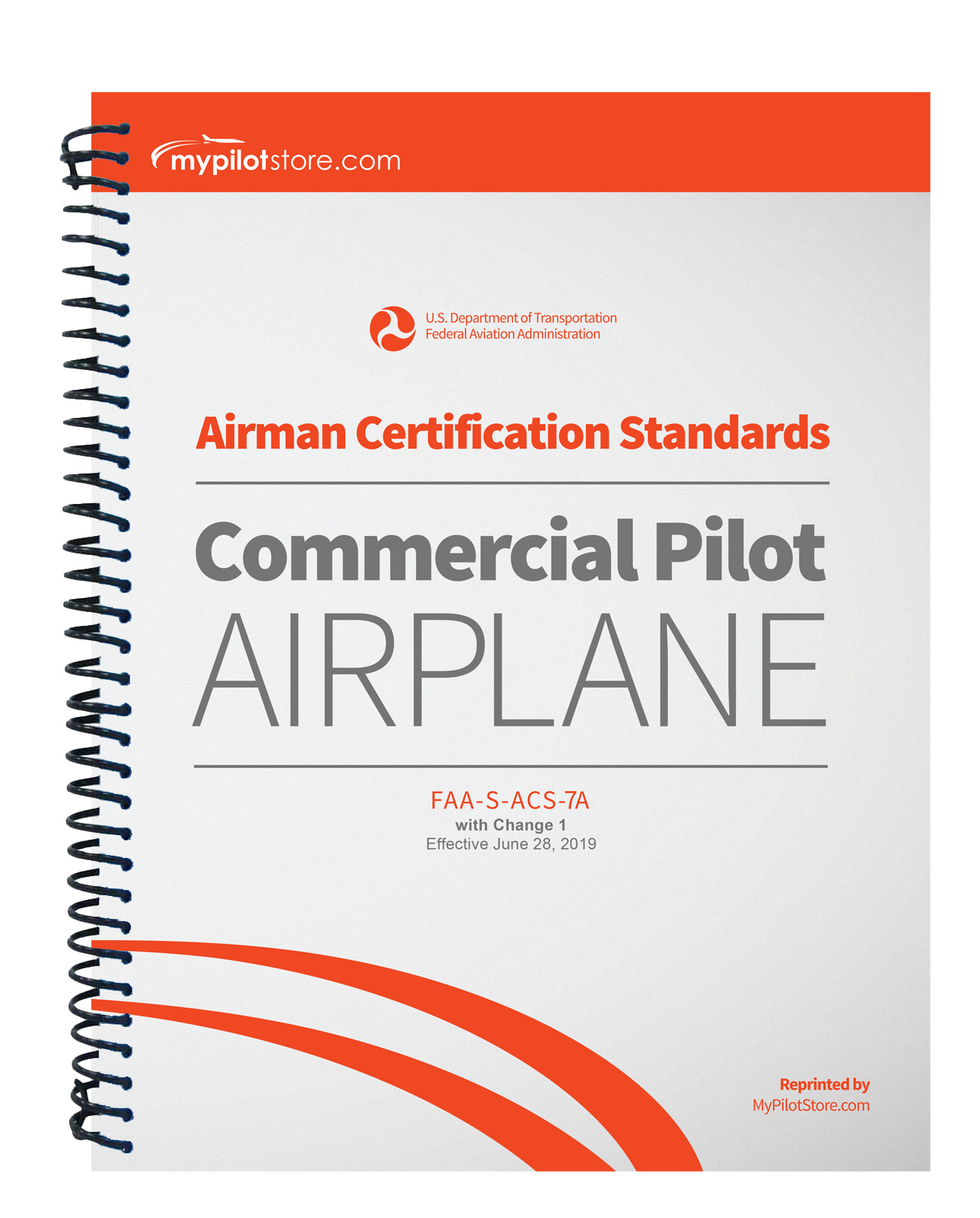 pilot airman certification standards airplane commercial mypilotstore