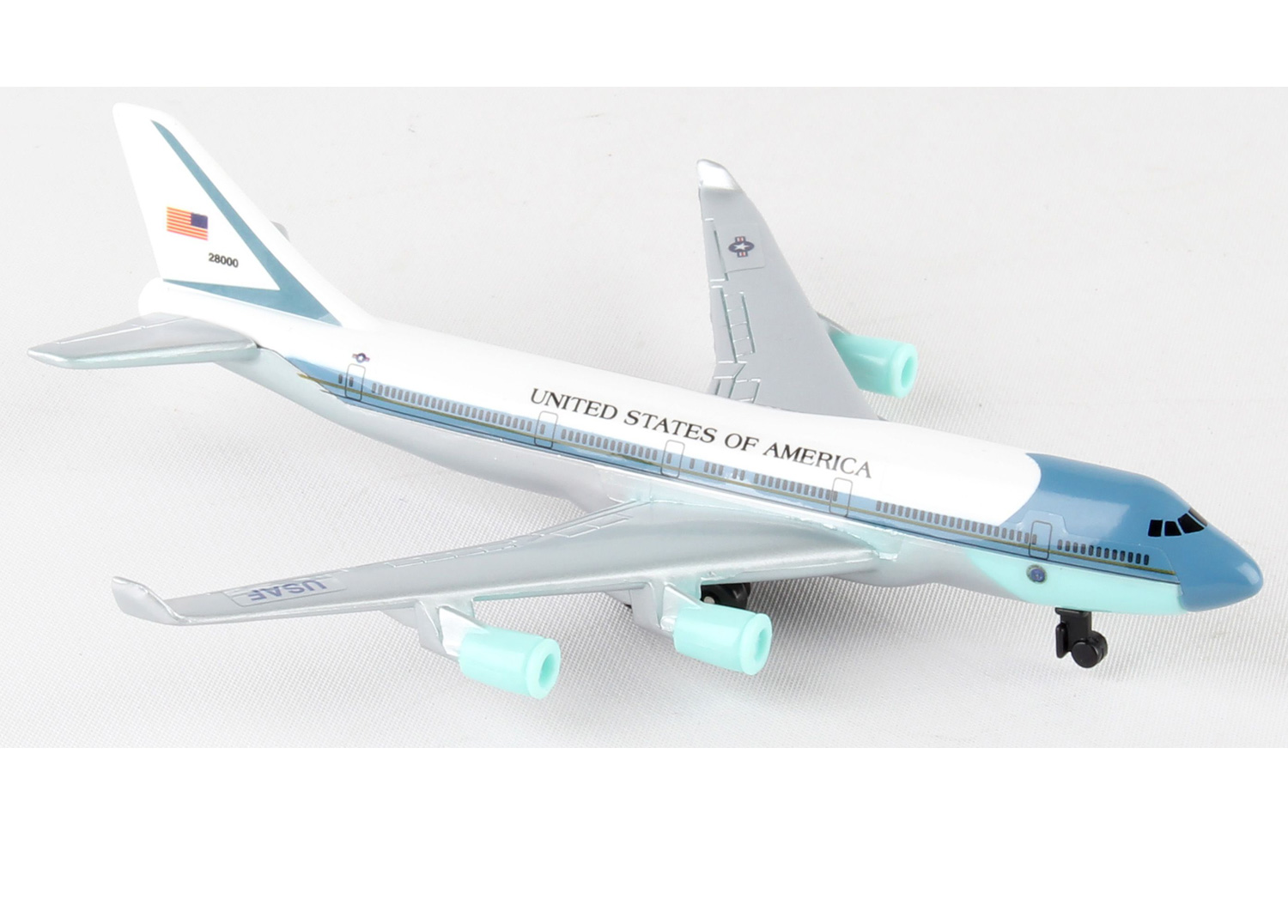 Air Force One Boeing 747 Die Cast Model Mypilotstore Com