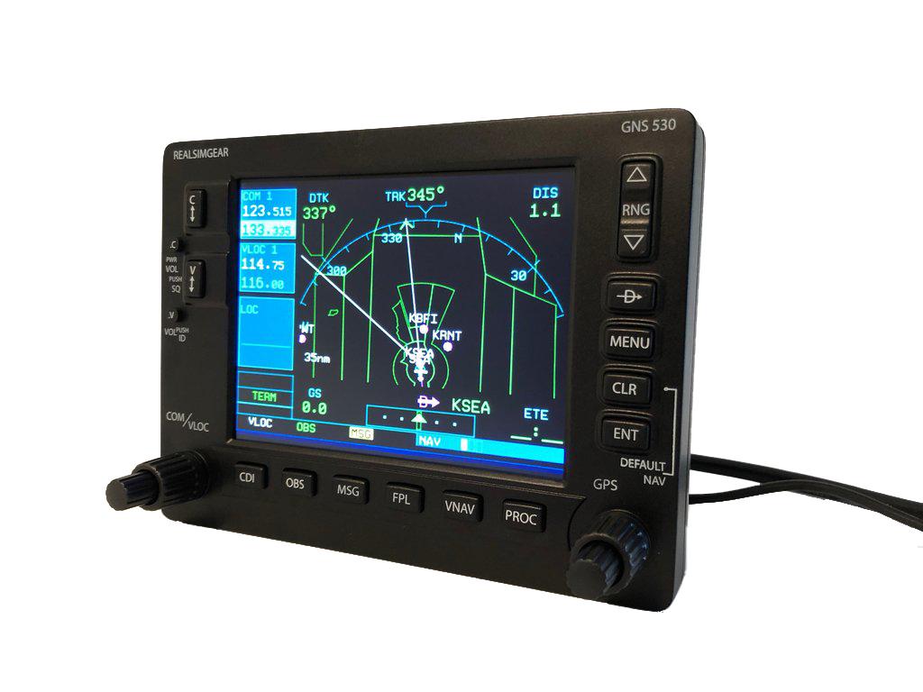 Garmin GNS 530 Bezel for Flight Simulators - MyPilotStore.com