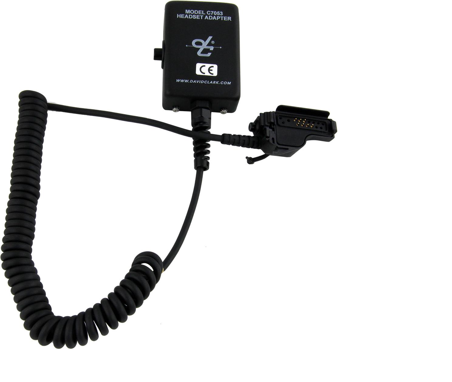 David Clark Headset Adapter C7053 Mypilotstore Com