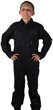 Kids Air Force Style Flight Suit - Black