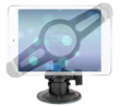 Fat Gecko Suction Cup Mount with Tablet / iPad Bracket
