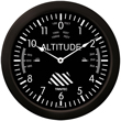 Altimeter Wall Clock - 14 Inch