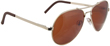 Vedalo Volare Medium Aviator - Gold Frame with Copper Rose Lens