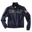 USAF Full Zip Sweatshirt