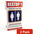 Restop1 Disposable Travel Toilet 2 Pack