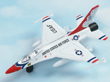 USAF Thunderbird F-16 Falcon Hot Wings Die-Cast Airplane