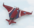 X-114 Pusher Hot Wings Die-Cast Airplane