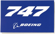 Boeing 747 Sticker