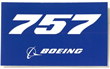 Boeing 757 Sticker