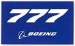 Boeing 777 Sticker