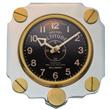 Aluminum Altimeter Wall Clock - Silver