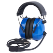 Wicom Aviation Headset - Blue