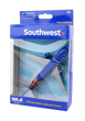 Southwest Airlines Boeing 737 Die Cast Model