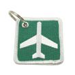 Airport Ahead Keychain