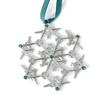 Jet Snowflake Ornament - Green