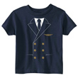 Pilot Uniform T-Shirt for Toddlers