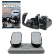 Deluxe CH Products Flight Simulator Bundle - X-Plane 11 DVDs, Yoke, and Rudders