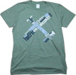 Phonetic Pilot T-Shirt - Heather Green