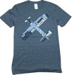 Phonetic Pilot T-Shirt - Dark Heather