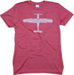 Airplane Anatomy T-Shirt - Heather Red