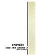 1965-1968  Piper PA30B Turbo Owner's Manual (761-452)