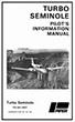 1980-Up Piper PA-44-180T Turbo Seminole Pilot's Information Manual (761-748)