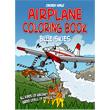 Chicken Wings Airplane Coloring Book Blue Skies
