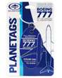 Genuine Boeing 777-200 PlaneTag from ANA Tail # JA8968