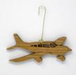 Piper Archer Cherry Wood Airplane Ornament