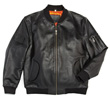 Flight Outfitters Leather MA-1 Jacket