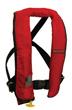 ComfortMax Inflatable Lifejacket / PFD (Red, Type II)