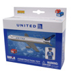 United Airlines Building Block Construction Toy