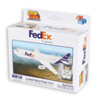 FedEx Cargo Jet Building Block Construction Toy